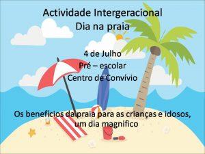 Actividade intergeracional